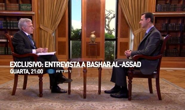 Bashar al-Assad na RTP1