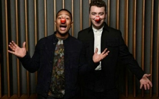 Sam Smith e John Legend em dueto solidário