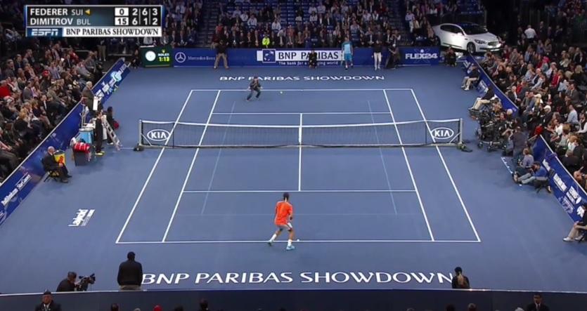 """Criança de 12 anos """"derrota"""" Federer"""