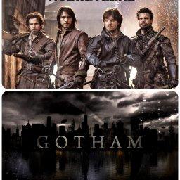 """""""Gotham"""" e """"Os Mosqueteiros"""" aos domingos na RTP1"""