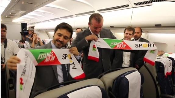 Sport TV vai transmitir conteúdos nos aviões daTAP