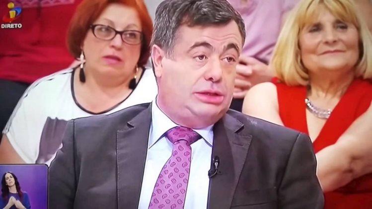 """Bronca na TVI: Quintino Aires arrasa povo cigano no """"Você na TV""""   COMVÍDEO"""