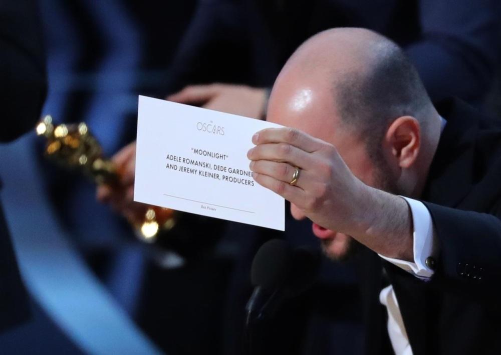 Erro monumental marca cerimónia dos Óscares