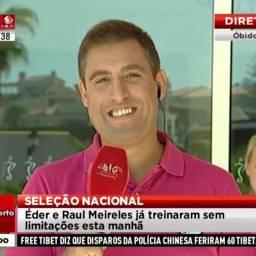 Nuno Luz, jornalista da SIC, defende as Touradas na RTP