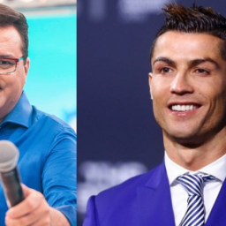 Cristiano Ronaldo enviou mensagem a Geraldo Luis