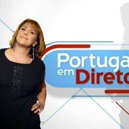 """""""Portugal em Direto"""": Dina Aguiar vence SIC e TVI e bate recorde de audiência!"""