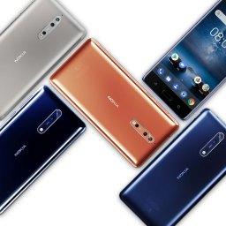 Nokia disparou nas vendas no final de 2017.