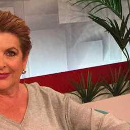 Luisa Castel-Branco de passagem pela a RTP