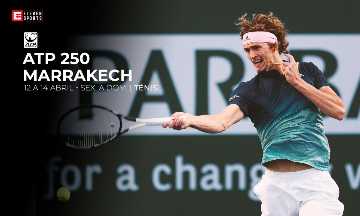 A Eleven Sports garantiu os direitos de sete torneios ATP250