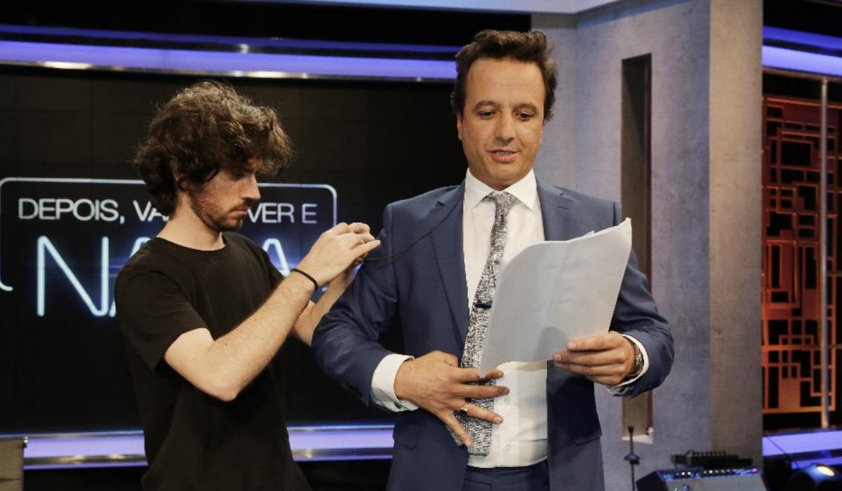 José Pedro Vasconcelos fala do seu novoprograma