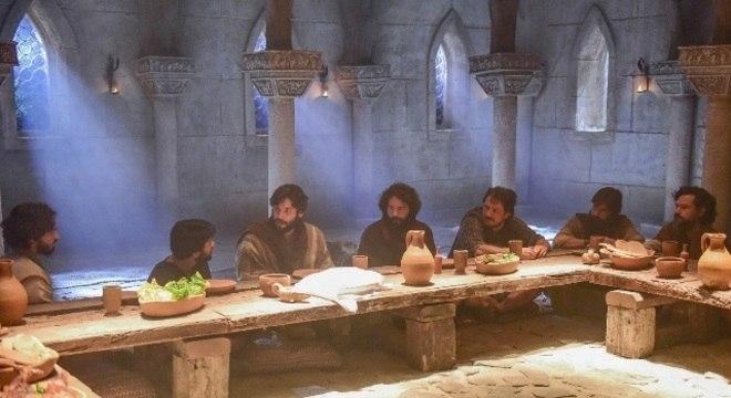Novela «Jesus»: esta 5ª.Feira Record TV recria A ÚltimaCeia