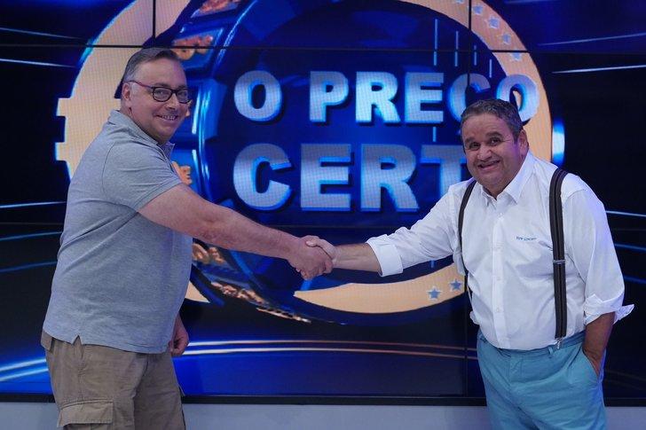 José Fragoso coloca «O Preço Certo» narua