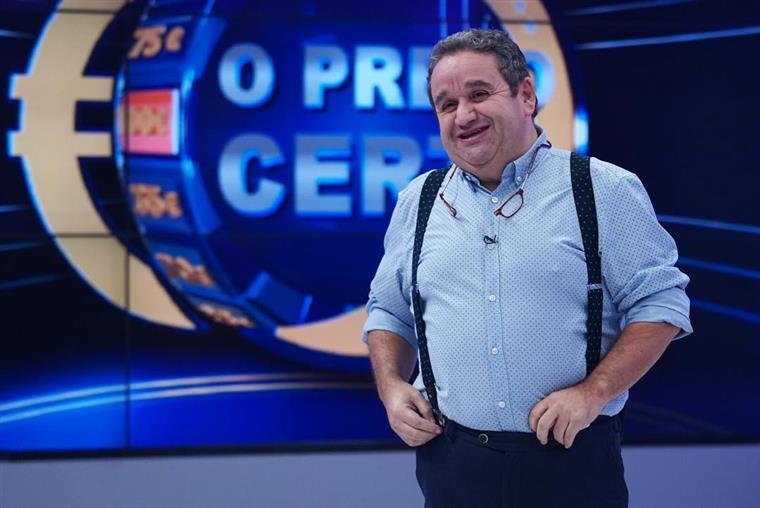 """""""O Preço Certo"""" demolidor: SIC e TVI não resistem ao sucesso de FernandoMendes"""