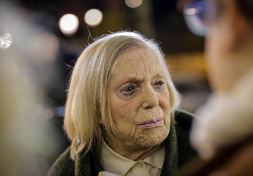 Lourdes Norberto: aos 84 anos a actriz foi posta narua