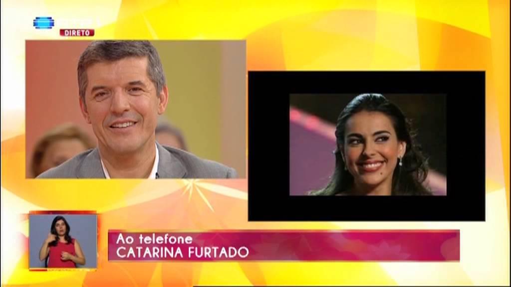 Catarina Furtado enviou esta mensagem a JoãoBaião