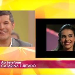 Catarina Furtado enviou esta mensagem a João Baião