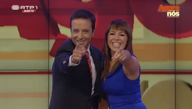 Tânia Ribas de Oliveira envia mensagem de Parabéns a Zé PedroVasconcelos