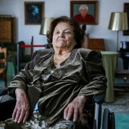 Argentina Santos (1924-2019) vivia na Casa do Artista