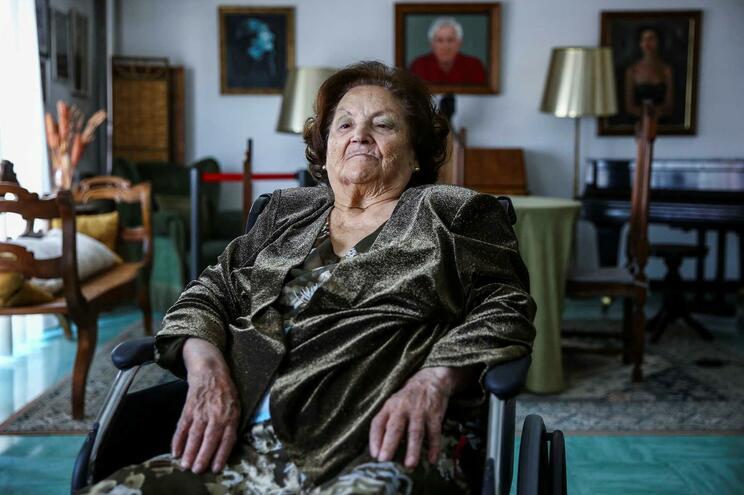 Argentina Santos (1924-2019) vivia na Casa doArtista