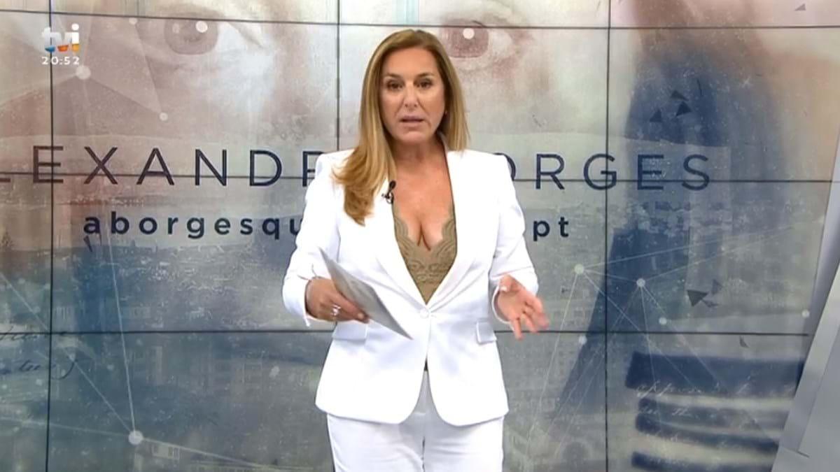 """""""Alexandra Borges"""" foi o programa mais visto ontem, daTVI"""