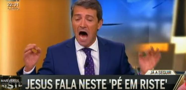 CMTV: jornalista João Ferreira exalta-se e grita em directo com convidados | Vejam ovídeo!