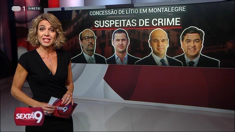 """""""Sexta às 9"""" foi o 5º. programa mais visto esta sexta-feira emPortugal"""