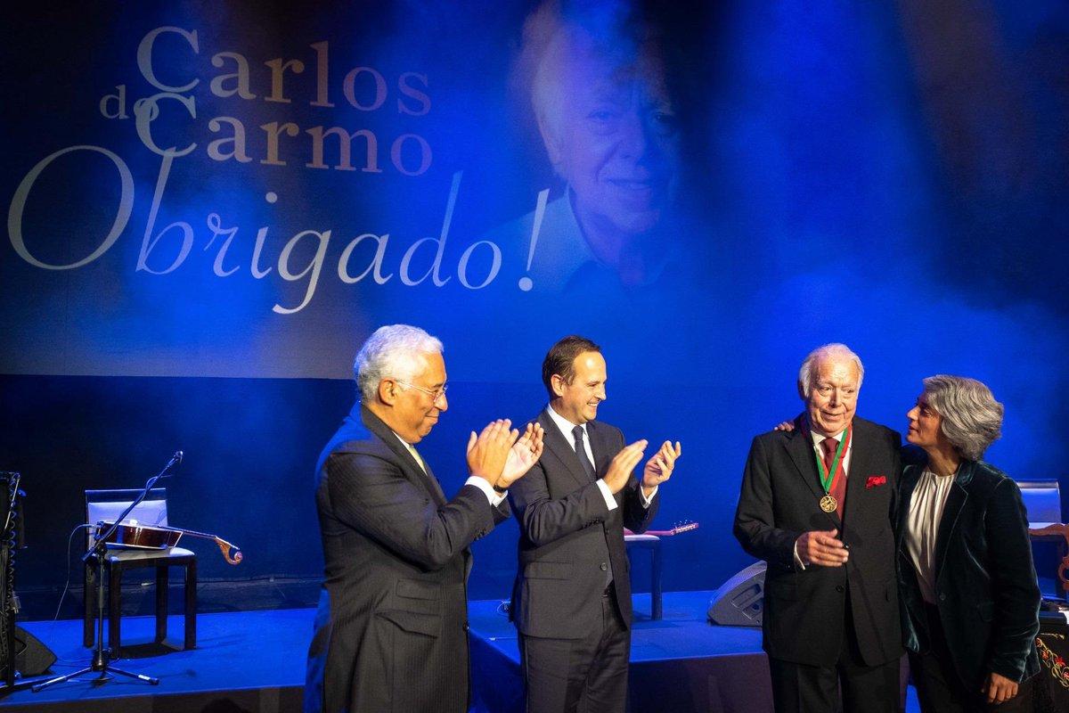 Último concerto de Carlos do Carmo registou fraca audiência naRTP