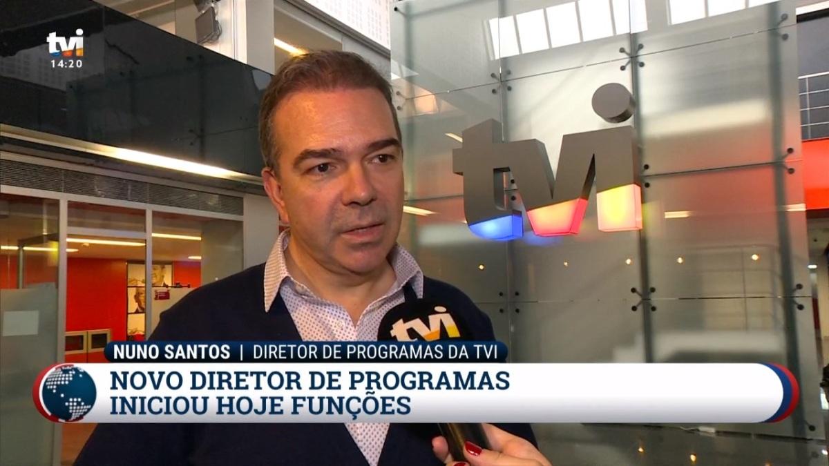 Nuno Santos assumiu hoje lugar de Felipa Garnel naTVI