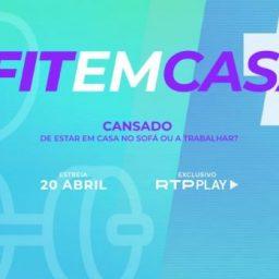 #FITEMCASA é a nova área da RTP Play