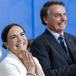 Bolsonaro quer actor da TV Globo para substituir Regina Duarte