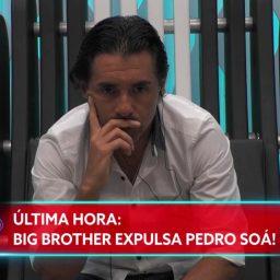 "Pedro Soá expulso do ""Big Brother"""