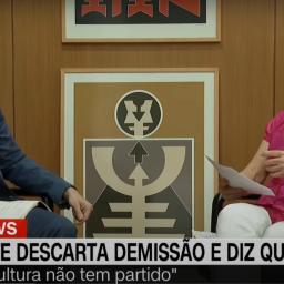 Regina Duarte irrita-se com pivots da CNN Brasil