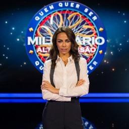 """""""Quem Quer Ser Milionário?"""":   Filomena Cautela cai nas audiências ao segundo episódio"""