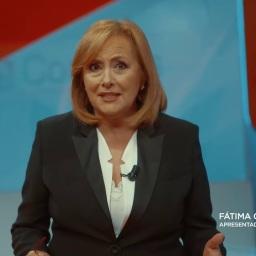 """Emocionante. Fátima Campos Ferreira: """"É uma honra e um privilégio servir o meu país no serviço público de televisão."""""""