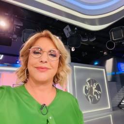Dina Aguiar voltou à RTP depois de ter estado em isolamento profilático