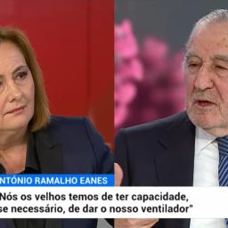 """Fátima Campos Ferreira sobre Eanes: """"É hoje a maior referência do país"""""""