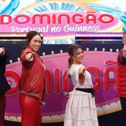 """""""Domingão"""" – Bailarina cai em direto no programa da SIC"""