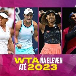 WTA na Eleven Sports até 2023