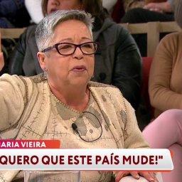 """Maria Vieira: """"Eu não festejo e jamais festejarei o 25 de Abril"""""""