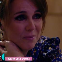 Tânia Ribas de Oliveira desabou, em directo, quando soube da morte de Maria João Abreu