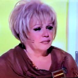Alexandra chora durante vários minutos, sem dizer nada, em programa de televisão | COM VÍDEO!