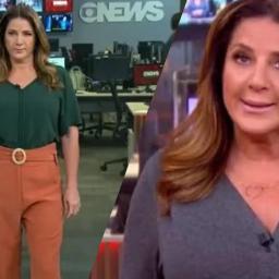 Christiane Pelajo: jornalista da TV Globo irrita-se em directo e abandona estúdio aos gritos | Com Vídeo!