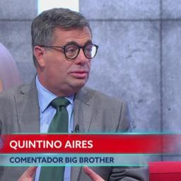 ÚLTIMA HORA: TVI afasta Quintino Aires do Big Brother